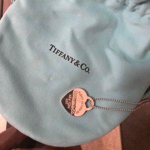 Tiffany & co. medium Tiffany heart necklace